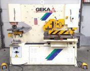 Geka Hydracrop 110/SD Geka ponsknipmachine gebruikte ponsknipmachine Geka ironworker used Geka ironworker Geka profilstahlschere gebraucht gebrauchte profilstahlschere