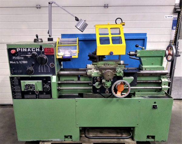 Pinacho draaibank Pinacho lathe Pinacho Metaaldraaibank Pinacho L-1 190